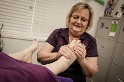 Maternity Reflexology in practice